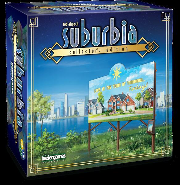 Jeu Suburbia (Edition Collector) par Bézier Games