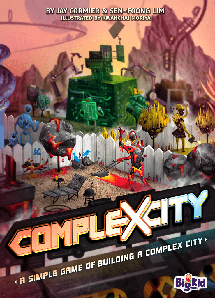 Jeu Complexcity pâr Big Kid Games