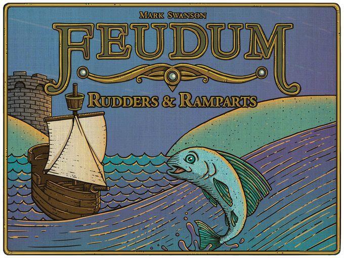 Jeu Feudum - Extension Rudders & Ramparts