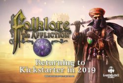 Kickstarter Folklore the Affliction - The Fall of the Dark Spire par Greenbrier Games