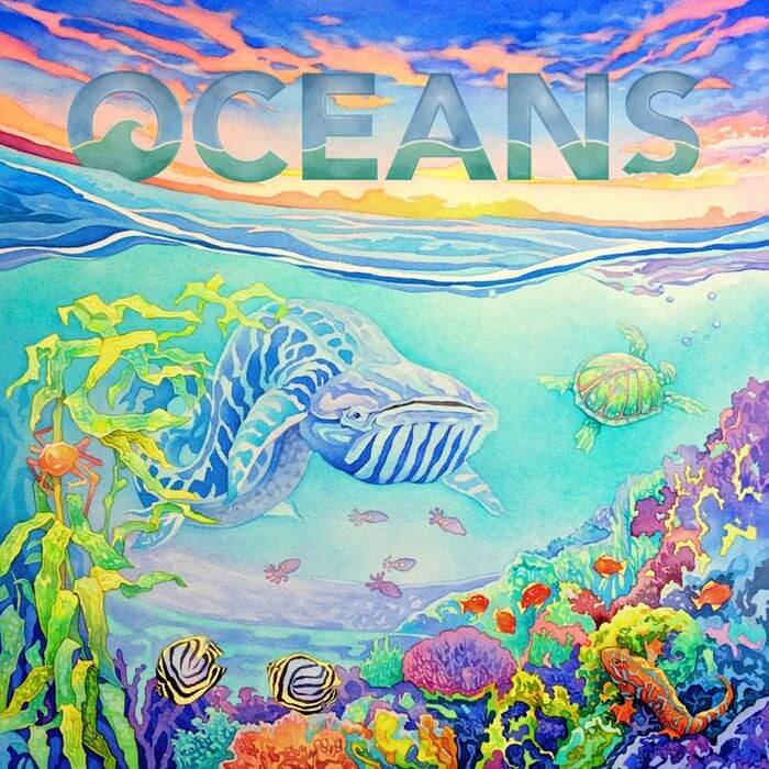 Jeu Oceans - Kickstarter par North Star Games - VF par Funforge