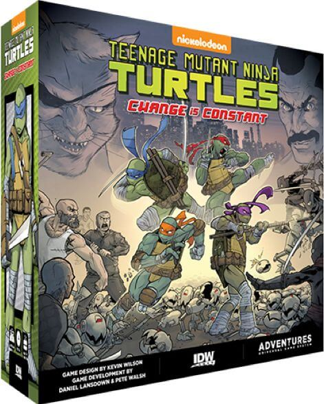 Jeu Teenage Mutant Ninja Turtles - Change is Constant - par IDW