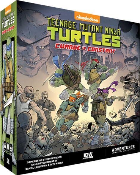 Jeu Teenage Mutant Ninja Turtles - Change is Constant - par IDW