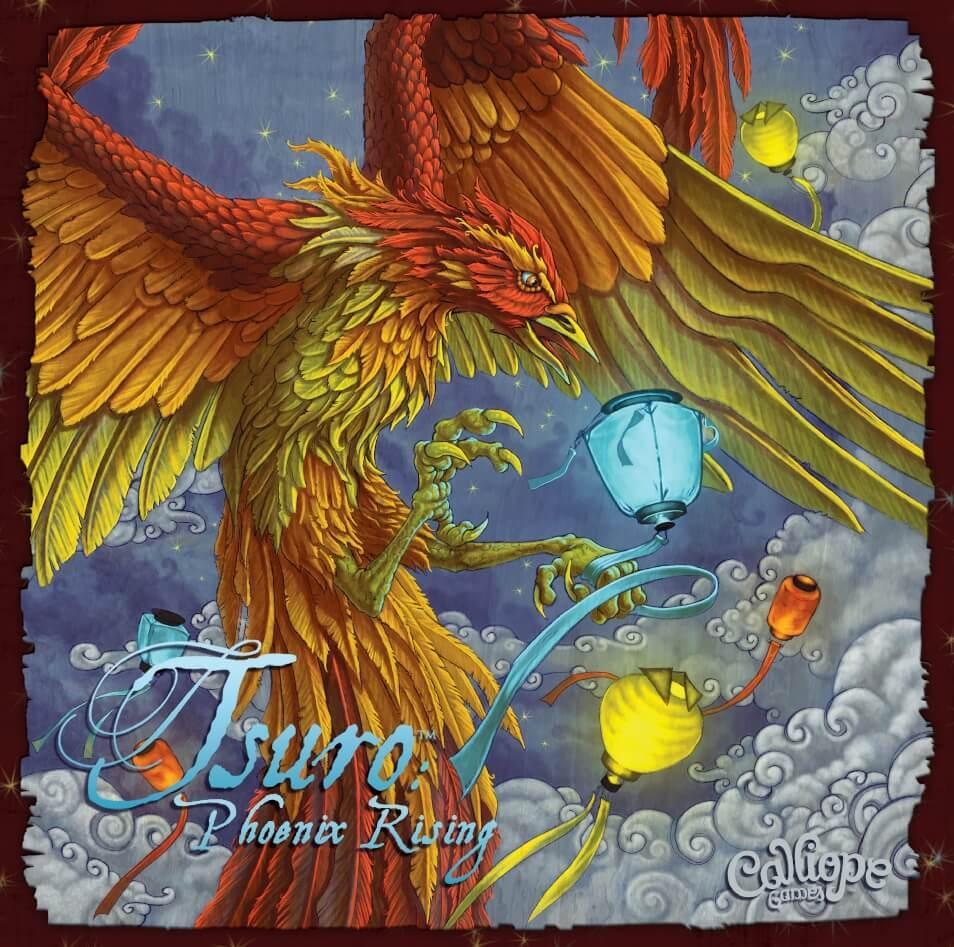 Jeu Tsuro - Phoenix Rising