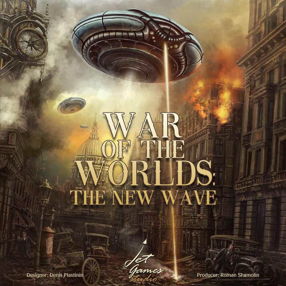 Jeu War of the Worlds - The New Wave - par Grey Fox Games