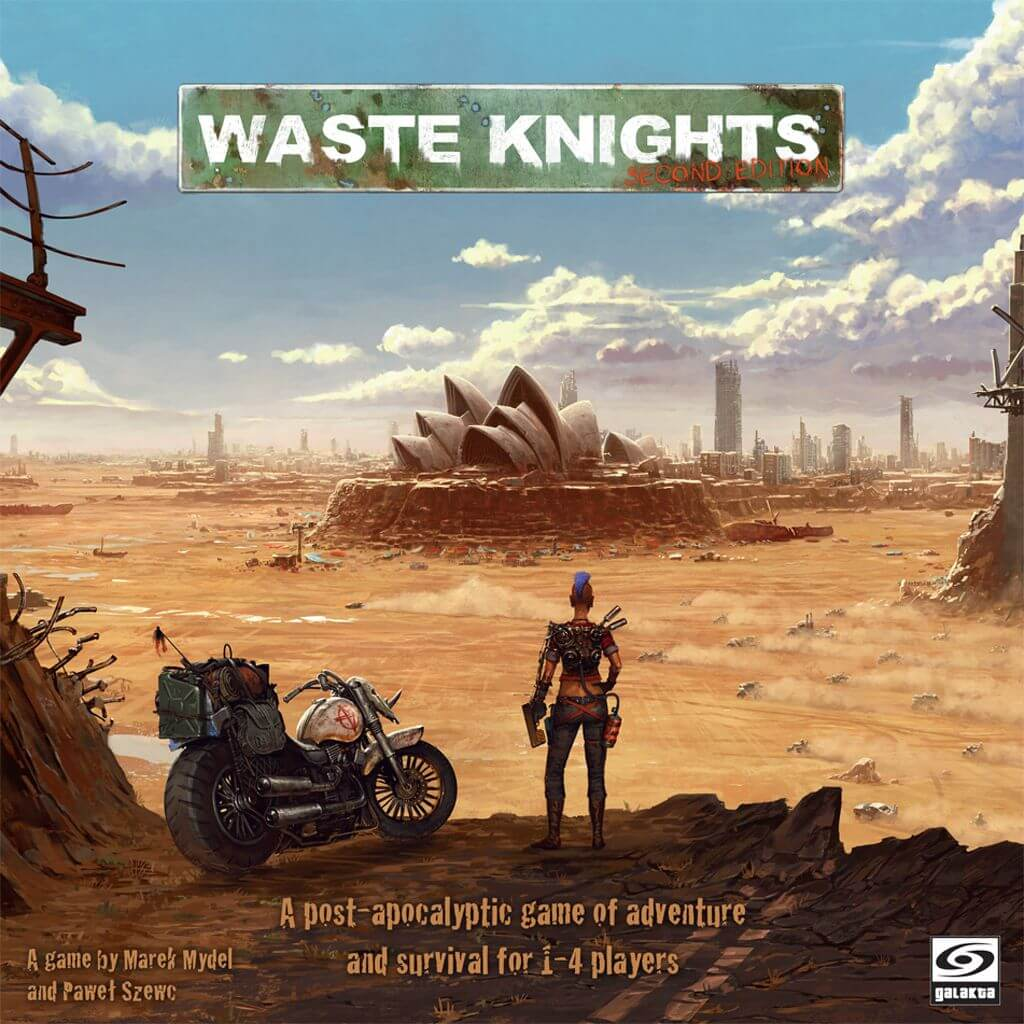 Jeu Waste Knights par Galakta Games - Kickstarter 2nd Edition