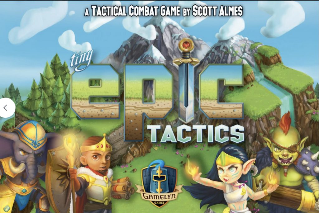 Jeu Tiny Epic Tactics par Gamelyn Games