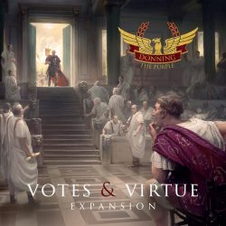 Jeu Donning the Purple - Votes & Virtue expansion par Tompet Games