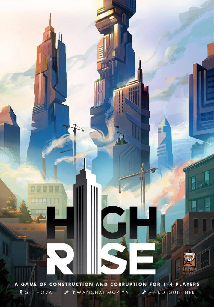 Jeu High Rise - Kickstarter par Formal Ferret Games - KS
