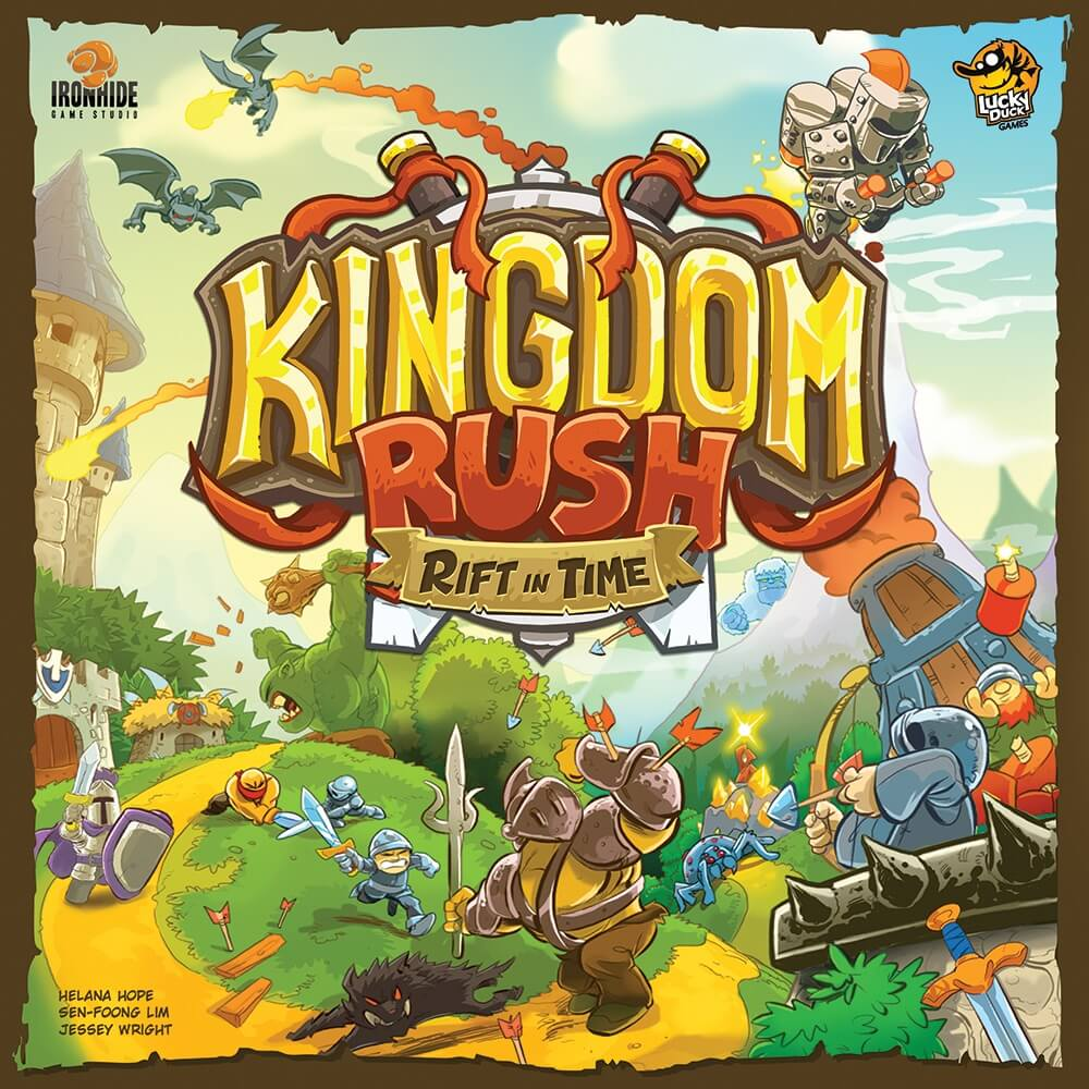 Jeu Kingdom Rush - Time Rift - par Lucky Duck Games