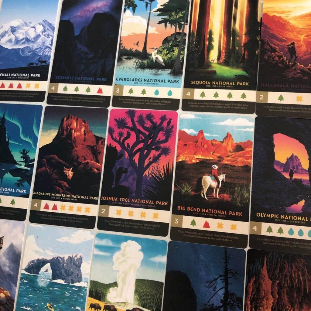 Parks - kickstarter par Keymaster Games - Images