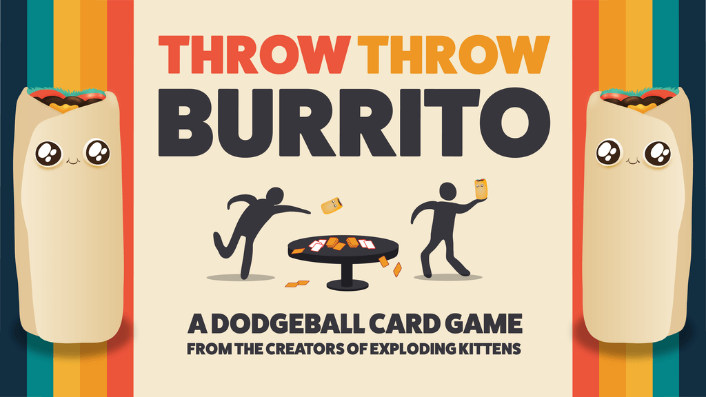Jeu Throw Throw Burrito par Exploding Kittens
