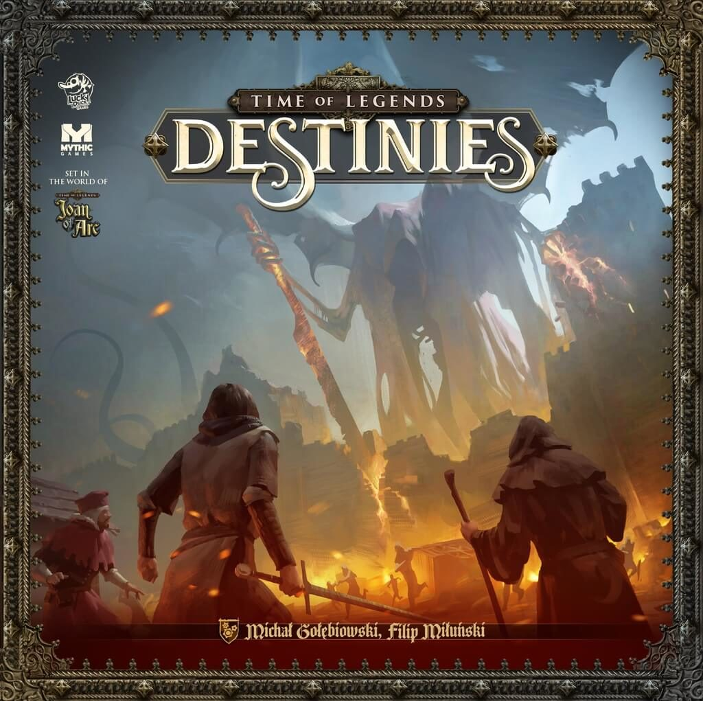 Jeu Time of Legends - Destinies par Lucky Duck Games et Mythic Game