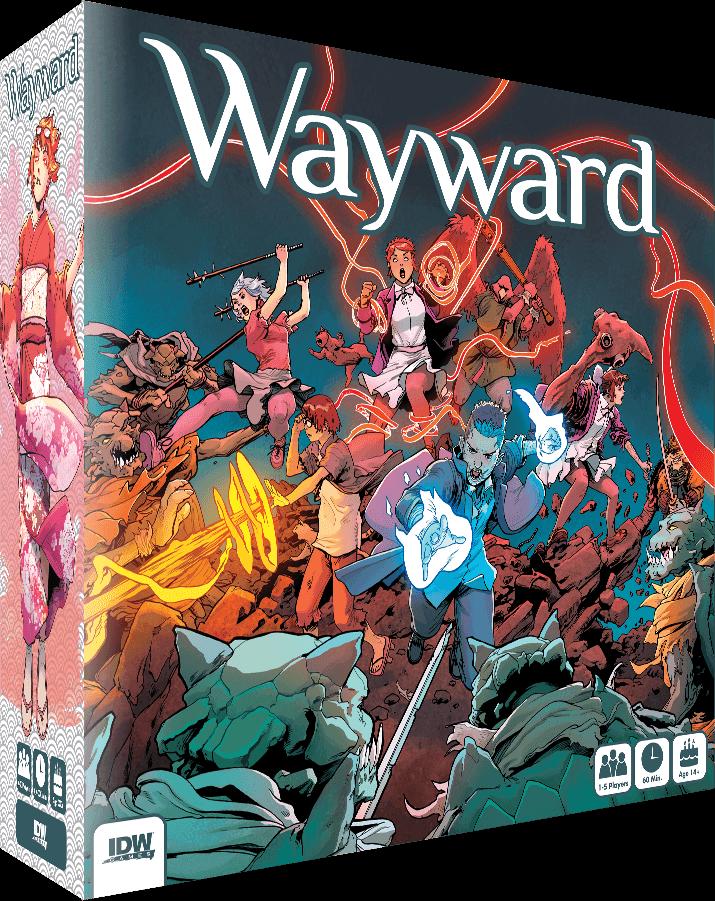 Jeu Wayward par IDW