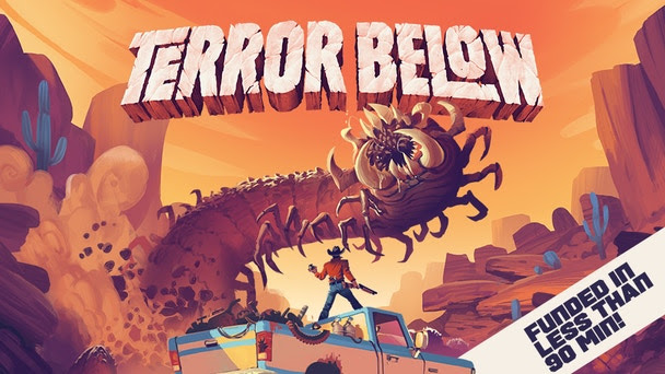 Jeu Terror Below par Renegade Games