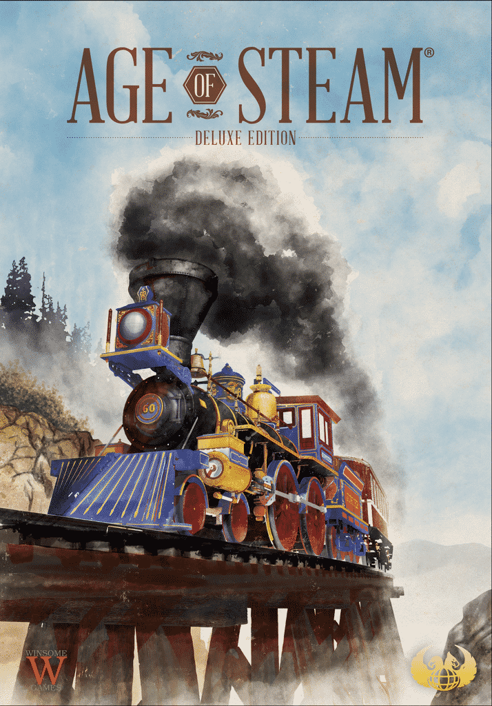 Jeu Age of Steam - Deluxe Edition - par Eagle-Gryphon Games - Boite