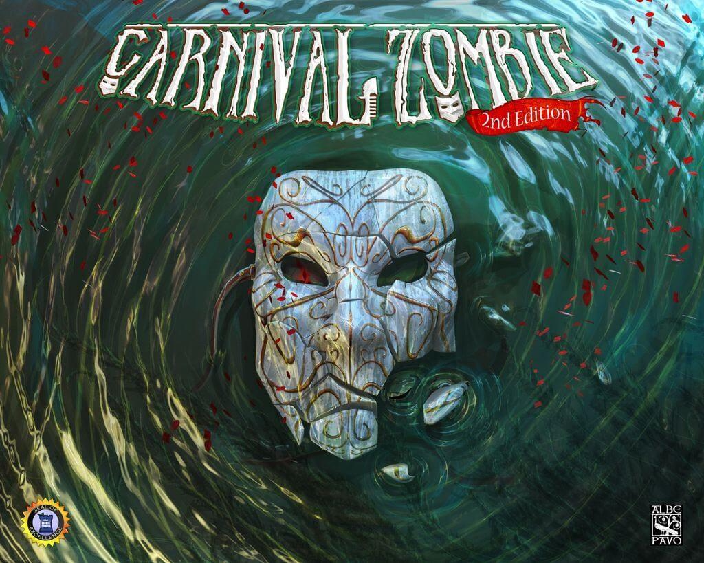 Jeu Carnival Zombie par Albe Pavo - 2nde edition - Kickstarter