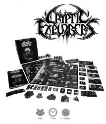 Jeu Cryptic Explorers par Tempest Tome Games
