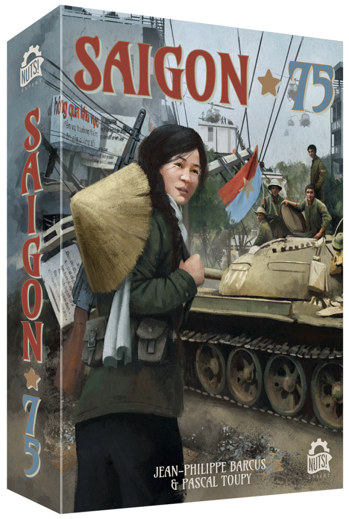 Jeu Saigon 75 par Nuts Publishing