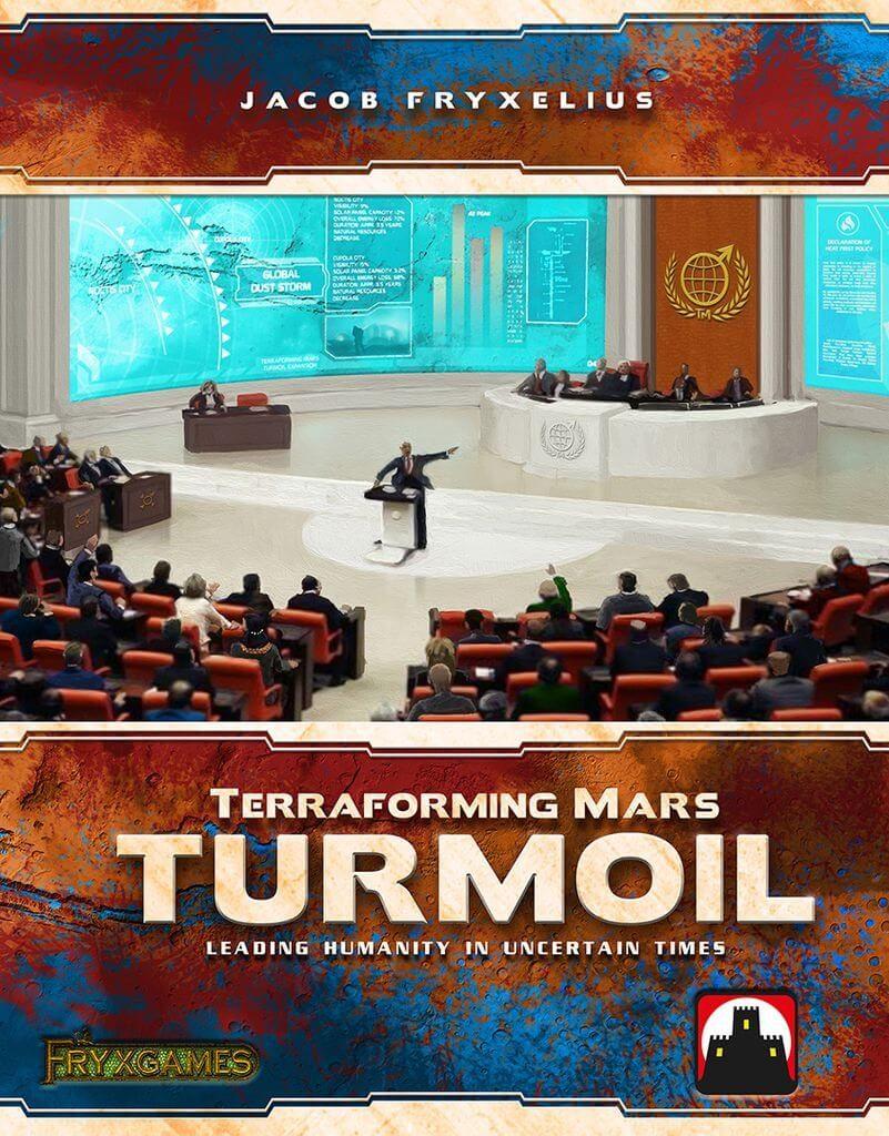 Jeu Terraforming Mars - extension Turmoil