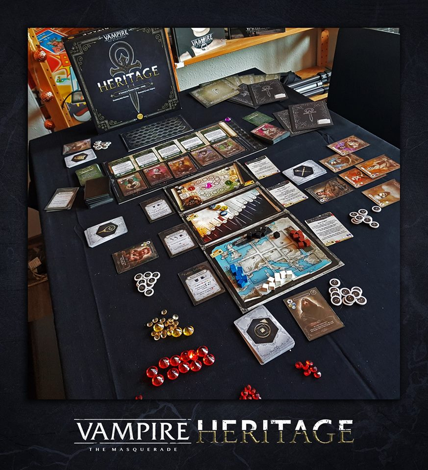 Jeu Vampire: The Mascarade - Héritage