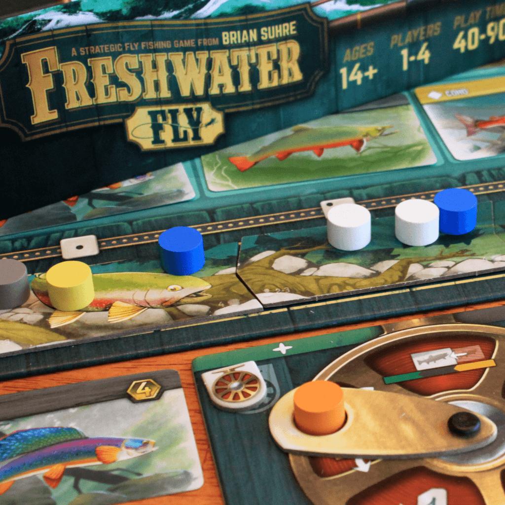 Jeu Freshwater Fly par Bellwether Games - vue générale