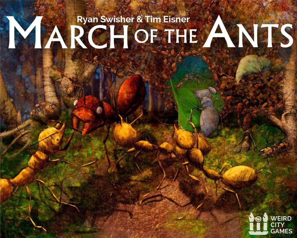 Jeu March of the Ants par Weird City Games