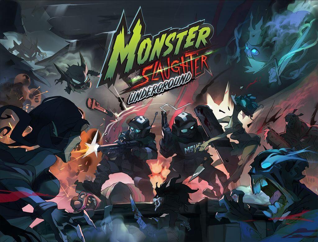 Jeu Monster Slaughter Underground par Ankama