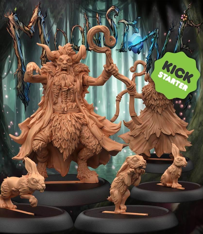 Jeu Moonstone Fantasy Skirmish Game – par Goblin King Games – ext. Leshavult