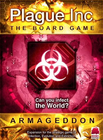 Jeu Plague Inc. - Armageddon Expansion - par Ndemic Creations