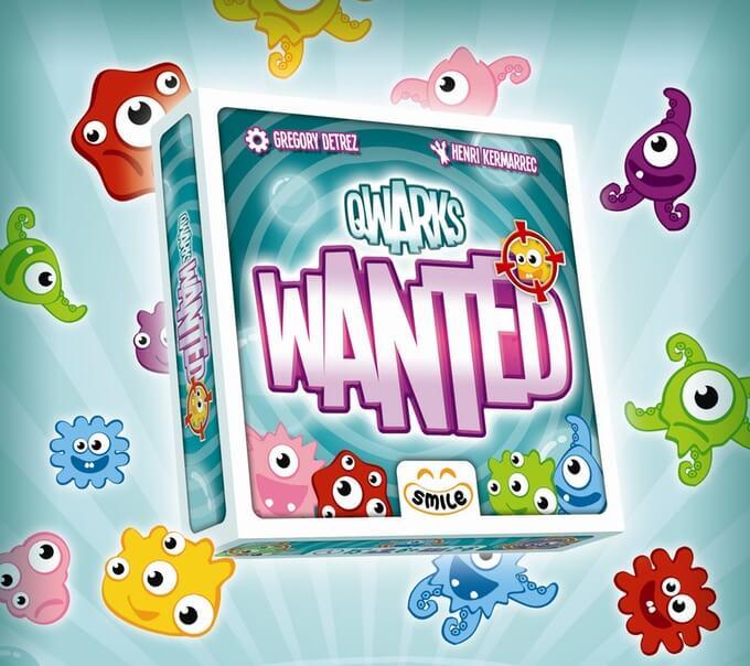 Jeu Qwarks Wanted par Smile Editions
