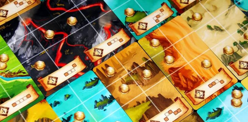 Jeu Roam par Red Raven Games - Territoires
