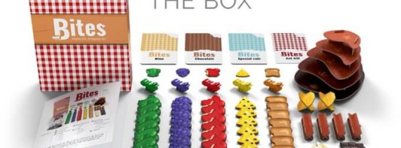 Jeu Bites par BoardGameTables - matériel
