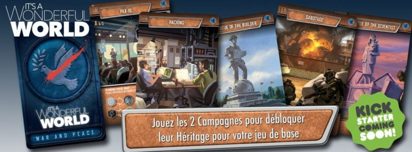 Jeu It's a wonderful world par la boite de jeu - annonce legacy