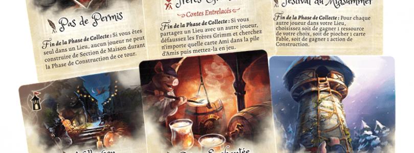 Jeu La forêt de Grimm - Promo_cards