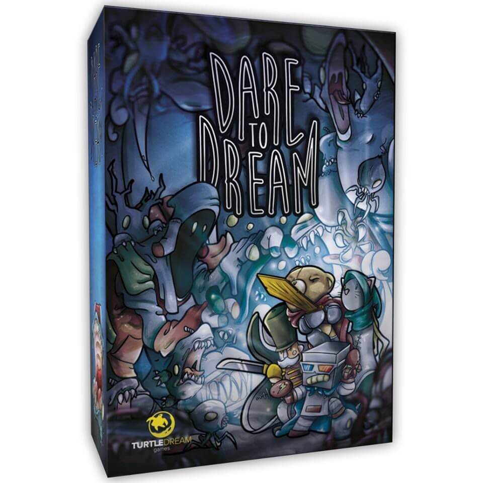 Jeu Dare to Dream par Turtle Dream Games et Oz Editions