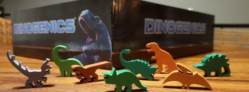Jeu Dinogenics - Kickstarter par Ninth Haven Games - meeples