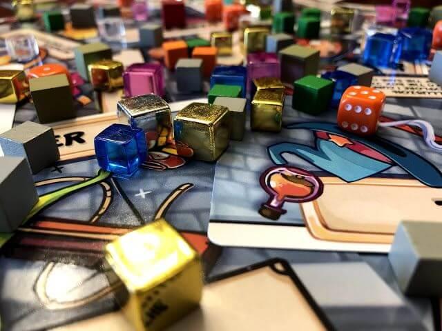 Jeu Dungeon Drop – Kickstarter par Phase Shift Games - Le matériel du jeu