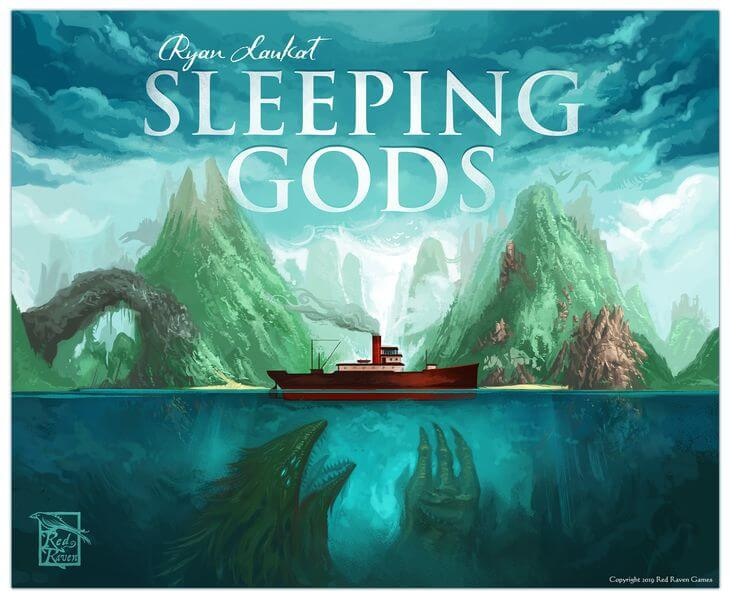 Jeu Sleeping Gods par Red Raven Games