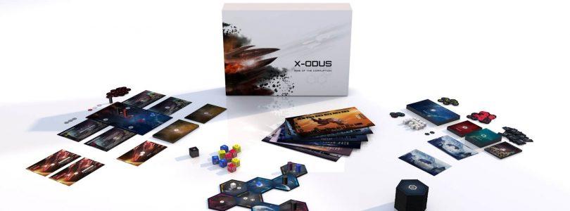 Jeu X-ODUS - Unboxing