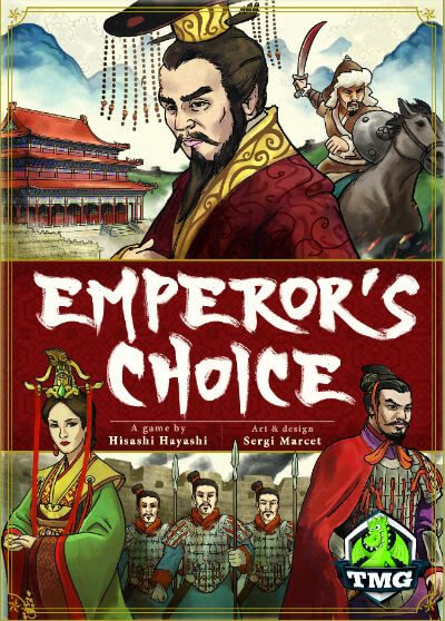 Jeu Emperor's Choice Deluxe par Tasty Minstrel