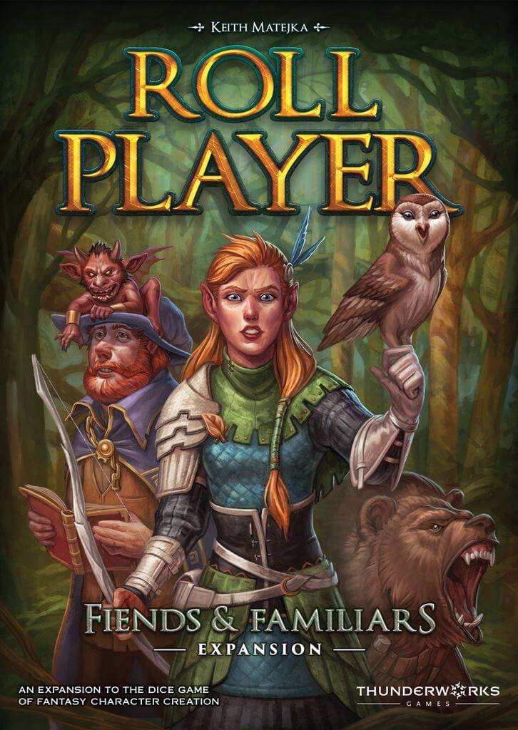 Jeu Roll Player - Extension Fiends and Familiars par Thunderworks Games