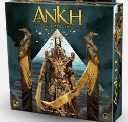 jeu Ankh de Eric Lang par CMON