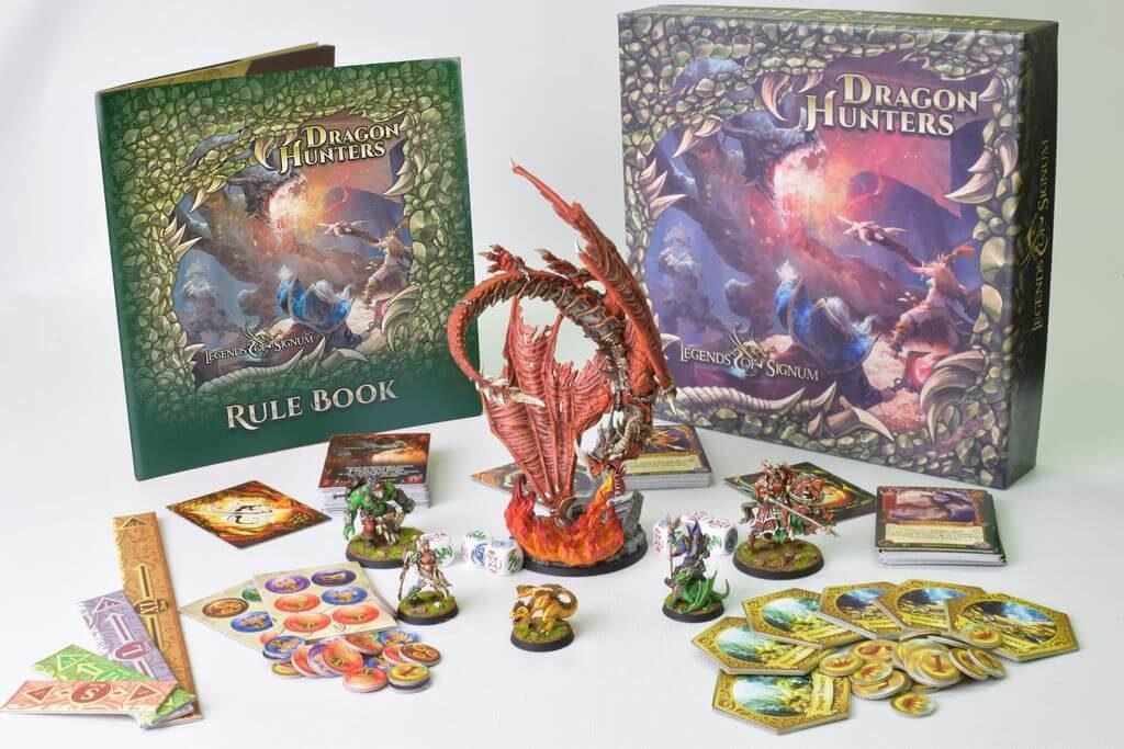 Jeu Dragon Hunters par Legends of Signum