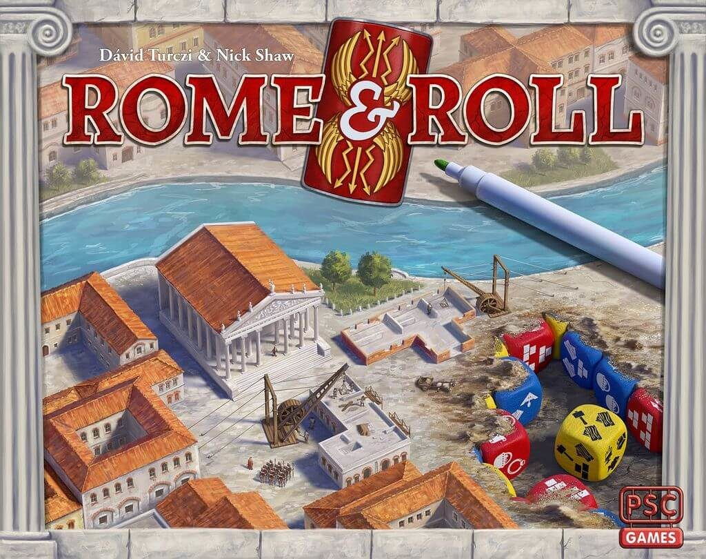 Jeu Rome and Roll par PSC Games