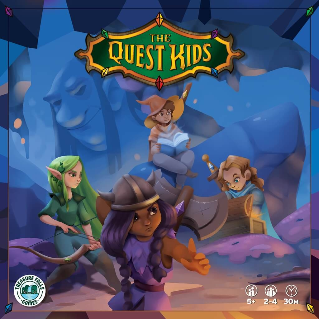 Jeu The Quest Kids par Treasure Falls Games