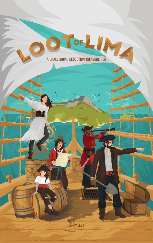Jeu Loot of Lima par BoardGameTables