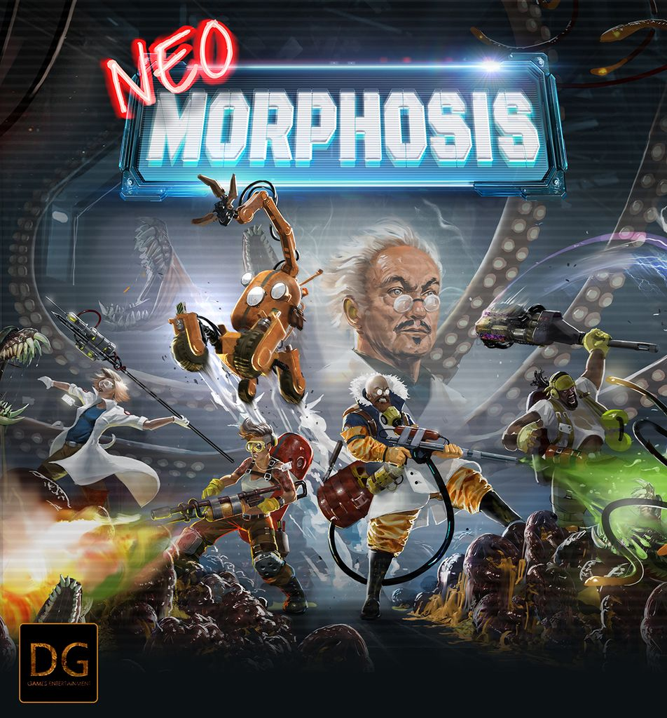 Jeu Neo-Morphosis - par Dark Gate Games