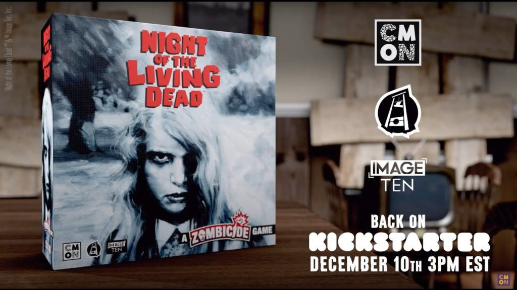 Night of the Living Dead - A Zombicide Game par CMON