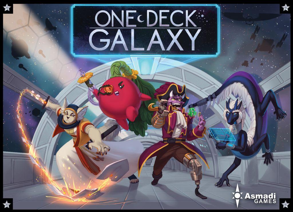 Jeu One Deck Galaxy par Asmadi
